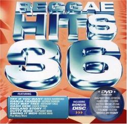 Reggae Hits 36 CD Cover Art