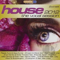 House: The Vocal Session 2012 CD Cover Art