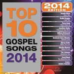 Various Artists - Top 10 Gospel Songs 2014 DB Cover Art