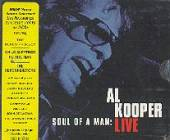 Kooper, Al - Soul Of A Man: Al Kooper Live CD Cover Art