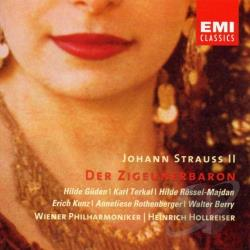 Strauss, J. Jr. - Strauss: Der Zigeunerbaron CD Cover Art