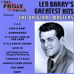 Barry, Len - Len Barry's Greatest Hits: Original Masters CD Cover Art