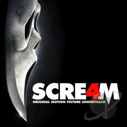 Scream 4 CD Cover Art