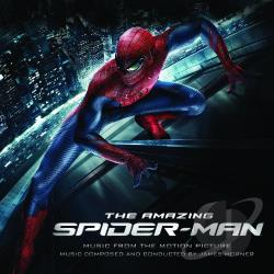 Horner, James - Amazing Spider-Man CD Cover Art