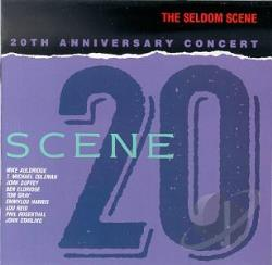 Seldom Scene - Scene 20: 20th Anniversary Concert CD Cover Art