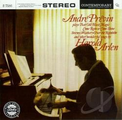 Previn, Andre - Andre Previn Plays Harold Arlen CD Cover Art