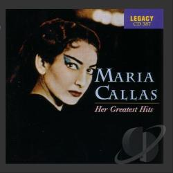 Callas, Maria - Her Greatest Hits CD Cover Art
