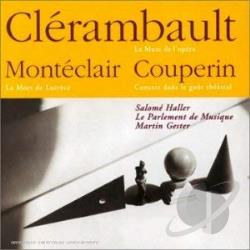 Monteclai - Couperin, Clerambault, Monteclair / Gester, Haller, Et Al CD Cover Art