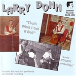 Donn, Larry - That's What I Call A Ball CD Cover Art