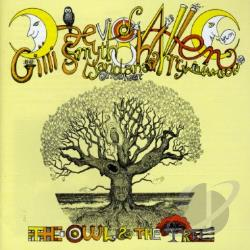 Daevid Allen & Mother Gong - Owl and the Tree CD Cover Art
