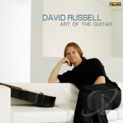 Russell, David - Art Of The Guitar SA Cover Art