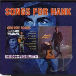 Jones, George / Scott, Jack - Songs from Hank CD Cover Art