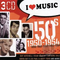 I Love Music 1950-1954 CD Cover Art