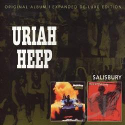 Uriah Heep - Salisbury CD Cover Art