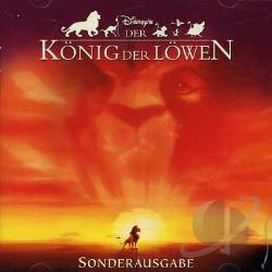 Disney's Der Konig der Lowen CD Cover Art