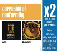 Corrosion Of Conformity - Blind/Deliverance CD Cover Art