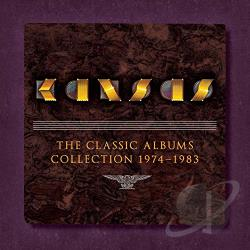 Kansas - Classic Albums Collection 1974-1983 CD Cover Art