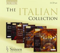 Christophers:di / Sixteen - Italian Collection CD Cover Art