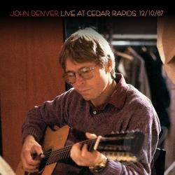 Denver, John - Live at Cedar Rapids 12/10/87 CD Cover Art