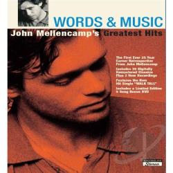 Mellencamp, John - Words And Music: John Mellencamp's Greatest Hits CD Cover Art