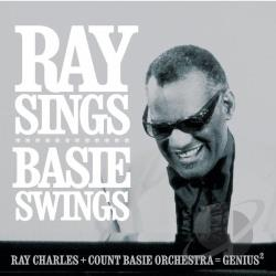 Charles, Ray - Ray Sings, Basie Swings CD Cover Art