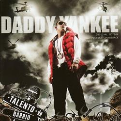 Daddy Yankee - Talento de Barrio CD Cover Art