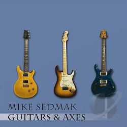 Sedmak, Mike - Guitars & Axes CD Cover Art