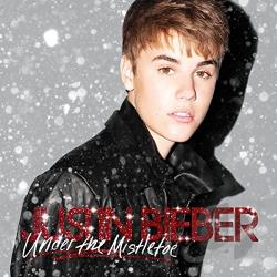 Bieber, Justin - Under the Mistletoe CD Cover Art