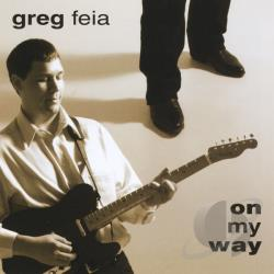 Feia, Greg - On My Way CD Cover Art
