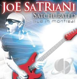 Satriani, Joe - Satchurated: Live in Montreal CD Cover Art