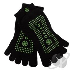 Gaiam - Grippy Yoga Socks-Fern Green-M/L CD Cover Art