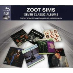 Sims, Zoot - 7 Classic Albums CD Cover Art