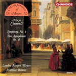 Bamert / Clementi / London Mozart Players - Clementi: Symphony No. 1; Two Symphonies Op. 18 CD Cover Art
