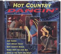Hot Country Dancin' CD Cover Art