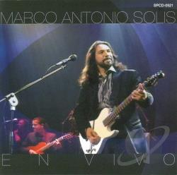 Solis, Marco Antonio - En Vivo CD Cover Art