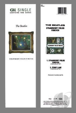 Beatles - Strawberry Fields CD Cover Art