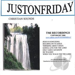 Justonfriday - Jesus Is Knocking CD Cover Art
