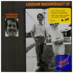 Wainwright III, Loudon - Attempted Mustache CD Cover Art