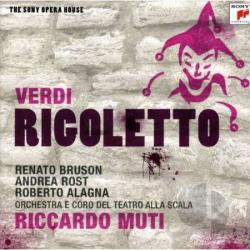 Alagna / Bruson / Muti / Orch Alla Scala / Verdi - Rigoletto CD Cover Art