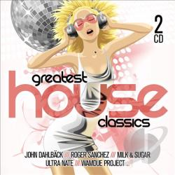 Greatest House Classics CD Cover Art