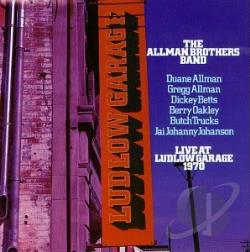 Allman Brothers Band - Live at Ludlow Garage 1970 CD Cover Art