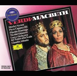 Abba / Domingo / Verrett - Verdi: Macbeth / Abbado, Cappuccilli, Verrett, Domingo CD Cover Art