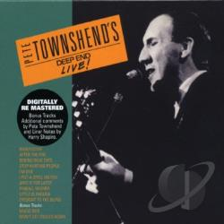 Townshend, Pete - Deep End Live CD Cover Art