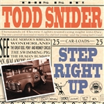 Snider, Todd - Step Right Up CD Cover Art