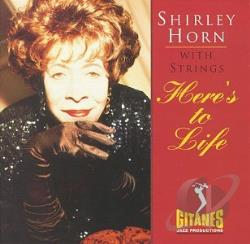 Horn, Shirley - Here's to Life CD Cover Art