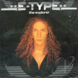 E-Type - Explorer CD Cover Art