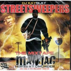 DJ Kayslay - Mixtape Maniac CD Cover Art