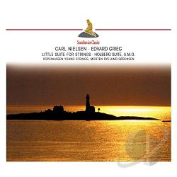 Copenhagen Young Strings / Grieg / Nielsen - Carl Nielsen: Little Suite for Strings; Edvard Grieg: Holberg Suite CD Cover Art