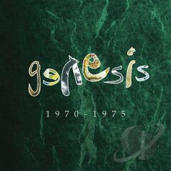 Genesis - Genesis 1970-1975 CD Cover Art