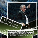 Bolshoi Theater Orchestra - Corelli: Concerto Gross No. 3 DB Cover Art